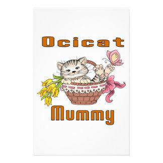 Het Mamma van de Kat van Ocicat Briefpapier