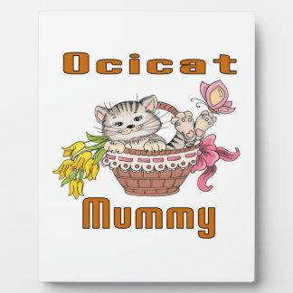 Het Mamma van de Kat van Ocicat Fotoplaat