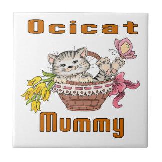 Het Mamma van de Kat van Ocicat Keramisch Tegeltje