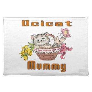 Het Mamma van de Kat van Ocicat Placemat