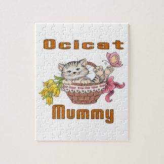Het Mamma van de Kat van Ocicat Puzzel
