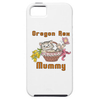 Het Mamma van de Kat van Oregon Rex Tough iPhone 5 Hoesje