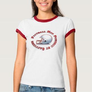 Het Mamma van het football door Caffine wordt T Shirt