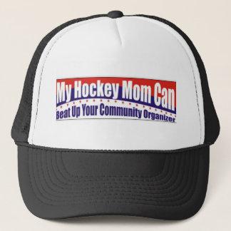 Het Mamma van het hockey versus Communautaire Trucker Pet