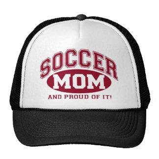 Het Mamma van het voetbal en trots van het! - Rood Trucker Pet