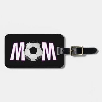 Het Mamma van het voetbal Kofferlabel