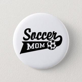 Het Mamma van het voetbal Ronde Button 5,7 Cm