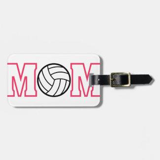 Het Mamma van het volleyball Kofferlabel