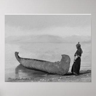 Het Man dat van Kootenai zich door Kano bevindt Poster