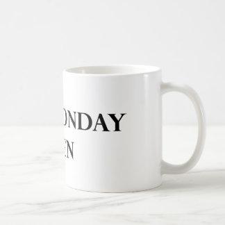 Het Man van de maandag overvalt Koffiemok