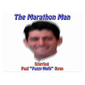Het man van de Marathon Briefkaart