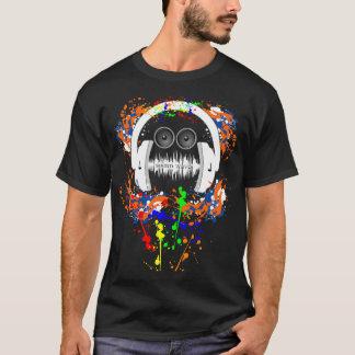 Het Man van de Muziek van correcte Golven T Shirt