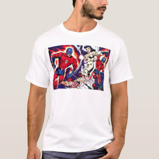 Het Man van de toorts en de Jongen van de Toorts T Shirt