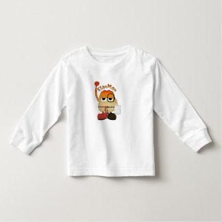 Het Man van de vlaai Kinder Shirts