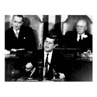 Het Man van John F. Kennedy van het president aan Briefkaart