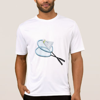 Het Mannen Actieve T-shirt van het badminton