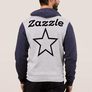 Het Mannen Bella van Zazzle+Het volledig-Pit Hoodie