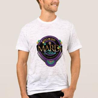 Het mannen gaan-GAAT de T-shirt van Mardi Gras