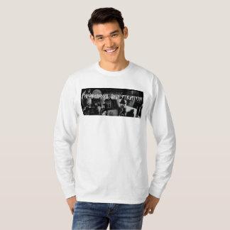Het Mannen Lange Sleeve T van de paranormale T Shirt
