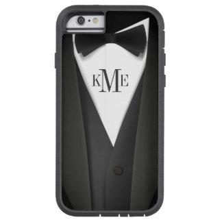 Het mannen Patroon van het Kostuum van de Smoking Tough Xtreme iPhone 6 Hoesje