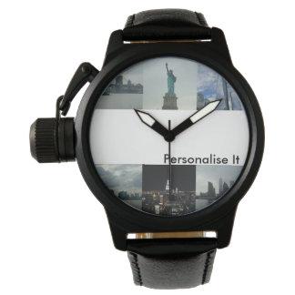 Het mannen personaliseert het het Horloge van de