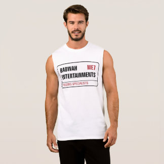 Het Mannen Sleeveless Vest van Babwah T Shirt