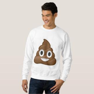 het mannen sweatshirt van achterschipemoji