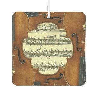 Het Manuscript van de Muziek van Bach Partita van Auto Luchtverfrissers