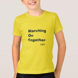 Het marcheren op samen de Kinder T-shirt van het