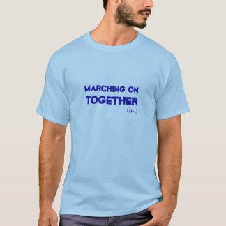 Het marcheren op samen de T-shirt van het Leeds