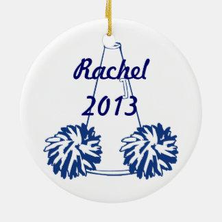 Het Marineblauwe Ornament Cheerleading van de