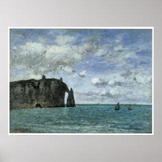 Het maritieme Fijne Poster of de Druk van de Kunst