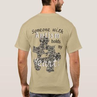 Het marmer Stuk van het Raadsel van het Autisme T Shirt