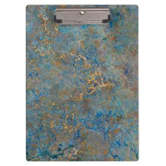 Het Marmer van de Lapis lazuli van de luxe Klembord