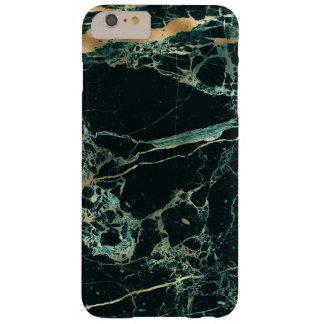 Het Marmer van PixDezines, Groene Wintertaling + Barely There iPhone 6 Plus Hoesje