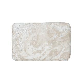 Het marmeren Grijze Ivoor van de Luxe van de Steen Badmat