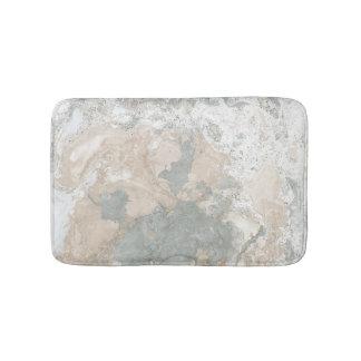 Het marmeren Grijze Ivoor van de Munt van de Steen Badmat