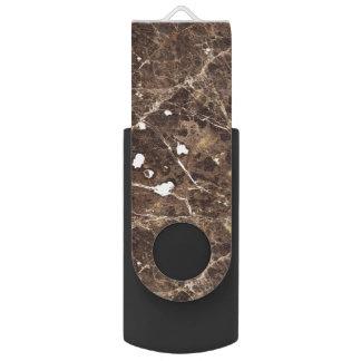 Het marmeren Patroon van de Steen in Bruine Tonen USB Stick