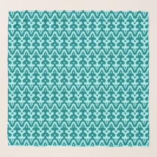 Het Marokkaanse Patroon, het Turkoois en Aqua van Sjaal
