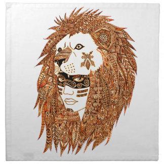 Het Masker van de leeuw Servet