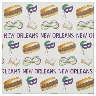 Het Masker van de Parels van NOLA New Orleans Stof