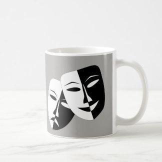 Het Masker van de Tragedie van de komedie -- Koffiemok