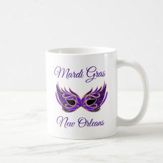 Het Masker van Gras New Orleans van Mardi Koffiemok