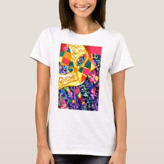 Het Masker van Gras van Mardi T Shirt