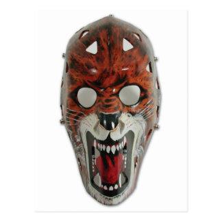 Het Masker van het hockey Briefkaart