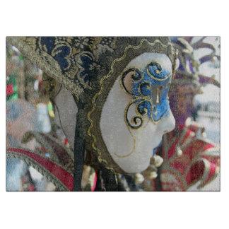 Het maskerglas van Carnaval Snijplank