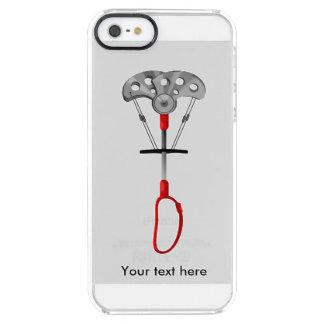 Het Materiaal van de Bergbeklimming Doorzichtig iPhone SE/5/5s Hoesje