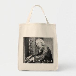 Het Materiaal van Johann Sebastian Bach Boodschappen Draagtas
