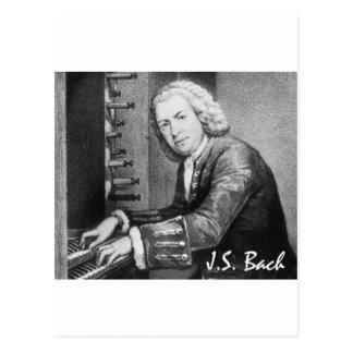 Het Materiaal van Johann Sebastian Bach Briefkaart