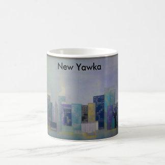 Het materiaal van New York Koffiemok